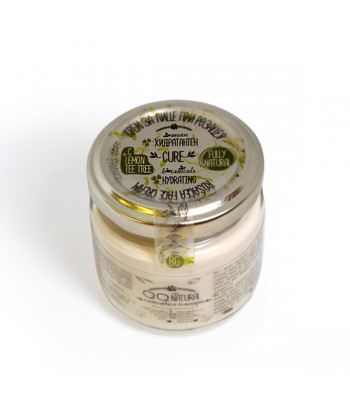 """100% Natural Hydrating Face Cream """"Cure"""" for Sensitive Skin With Argan Oil"""