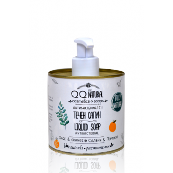 Natural Liquid Soap Antibacterial Sage & Orange